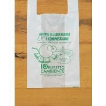 SHOPPERS Biocompostabili (UNI EN 13432) cm.27+7+7x50 (pz500) sfuse